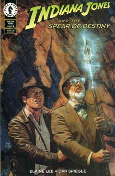 Indiana Jones and the Spear of Destiny #4