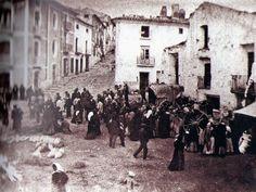 Mercado Puebla de Don Fadrique Año 1.890