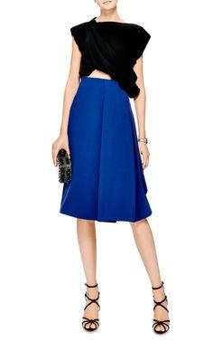 Sail Skirt In Royal Blue by J.W. Anderson - Moda Operandi