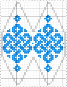 Knit Christmas Ornaments, Beaded Ornaments, Christmas Knitting, Christmas Crafts, Loom Patterns, Beading Patterns, Cross Stitch Patterns, Knitting Charts, Knitting Patterns