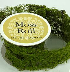 To use in making some decor to make wood/branches more NW Sheet Moss Roll Artificial 2.5 x 36in