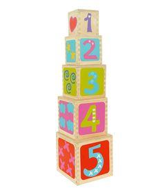 Pyramid Stacking Cubes - boikido
