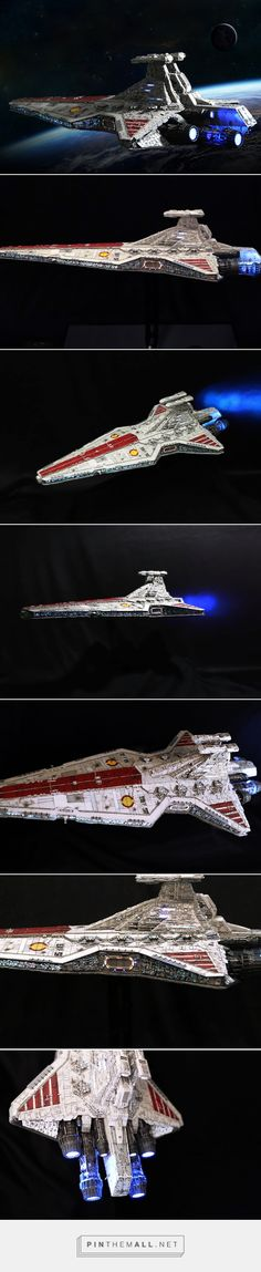 Star Wars [Revell] 1/2274 Republic Star Destroyer: Masterpiece! Improved, Full illuminated. Photoreview w/WIP too. No.20 Wallpaper Size Images | GUNJA... - a grouped images picture - Pin Them All