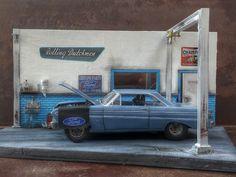 small dio for Ford Falcon 64 - Dioramas - Model Cars Magazine Forum