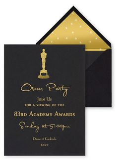 Oscar Party Invitation Template Luxury Best Oscar Viewing Party Invitations In 2019 Hollywood Party, Hollywood Birthday Parties, Party Box, Oscar Party, Party Fotos, Red Carpet Party, Movie Party, Decoration, Wedding Stationery
