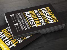 dribbble  Creative-business-card-prev
