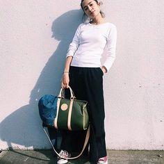 HUNTINGWORLD NYC #👍👍👍 #thankyou #bakerelisa #city#dufflebag #tokyo #fashionista #16ss #collection #❤️