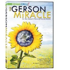 A great documentary, everyone should watch!!! THE GERSON MIRACLE Introduces us to the physician who developed The Gerson Therapy more than 75 years ago a therapy that has proven to cure cancer and most other chronic and degenerative diseases. Through his own painful struggle with migraines, Dr. Max Gerson conceived a treatment based entirely on nutrition and the body s own ability to heal itself.