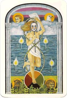 The World from the Jung tarot deck