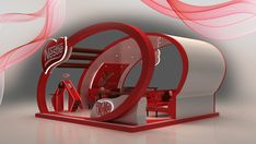 Nestle Kit kat 3D Booth design 2 25 Innovative 3D Exhibition Designs, Display Stands & Booth Collection