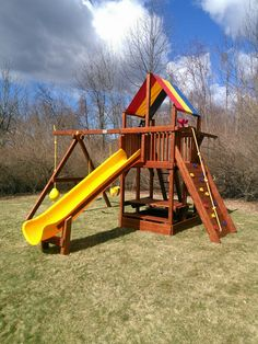 34 best swing set installation gallery images on pinterest gallery rh pinterest com Rainbow Swing Set Accessories Glider Rainbow Playset Replacement Parts