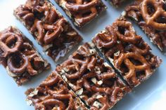 Week of Menus: Caramel Pretzel Bars: Won't you be my neighbor?