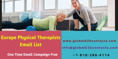 Physical therapists may work within a hospital or clinic, in a school providing assistance to special education students, or as independent contractors. Usa Doctor, Confidence Level, Direct Marketing, Physical Therapist, Email Campaign, Market Research, Email List, Company Names, Special Education