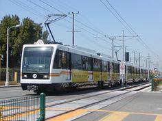 Metro Expo Line Light Rail Train Fleet .
