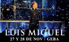 Te regalamos entradas para ver a Luis Miguel