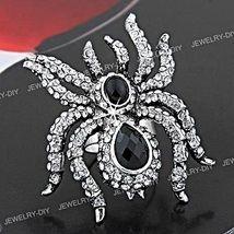 Swarovski Crystal Spider Ring