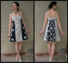 Mini Dress Eco-friendly Handmade Clothing by EcoClo size by EcoClo