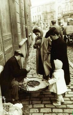 kestane zamanı (Sirkeci,1951) #istanbul #istanlook