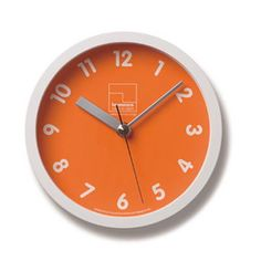 kichi-kiche: レムノス Lemnos Kitchen clock / orange OG table clock wall clock - Purchase now to accumulate reedemable points!