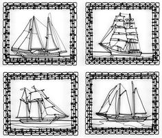 "C.W. Roelle wire ""drawings"" of ships -- one of a kind, 100 for sale for $100. Oh mercy, my wallet is way to thin for this kind of temptation."