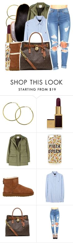 """""""12/29/15"""" by xtaymaxlovesxmisfitx ❤ liked on Polyvore featuring Melissa Odabash, Tom Ford, Joie, Topshop, UGG Australia, Polo Ralph Lauren and MICHAEL Michael Kors"""