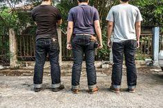 Samurai jeans team