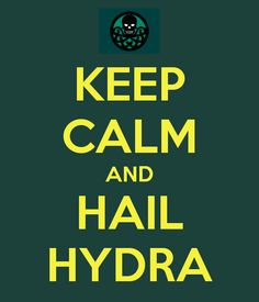 What is Milena doing...: Hail Hydra...