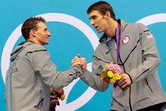 Michael Phelps & Ryan Lochte #Olympics2012