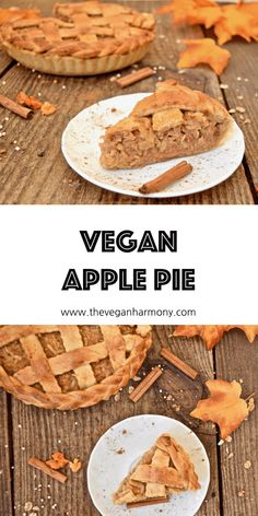 Very juicy and delicious vegan pie with apple walnut filling. Best Vegan Desserts, Classic Desserts, Desserts To Make, Vegan Treats, Delicious Vegan Recipes, Yummy Treats, Delicious Desserts, Tasty, Apple Pie Ingredients