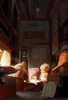 water dam keeper's animated short - Google Search