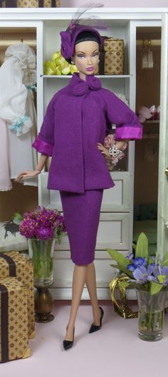 Magenta Court for Silkstone Barbie and Victoire by MatisseFashions