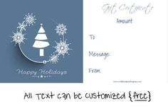 Christmas Gift Certificate Template 5 Awesome Christmas Gift Certificate Templates To End Christmas Gift Certificate Template 11 Word Pdf Documents, Printable Christmas Gift Certificate Template, Christmas Gift Certificate Template, Certificate Templates, Templates Printable Free, Gift Certificates, Free Christmas Gifts, Free Christmas Printables, Going Away Gifts, Spa Gifts, Business Card Holders