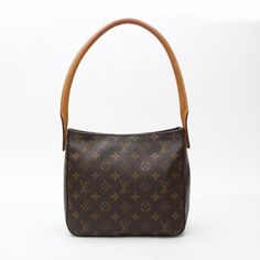 Louis Vuitton Looping MM Monogram Shoulder bags Brown Canvas M51146