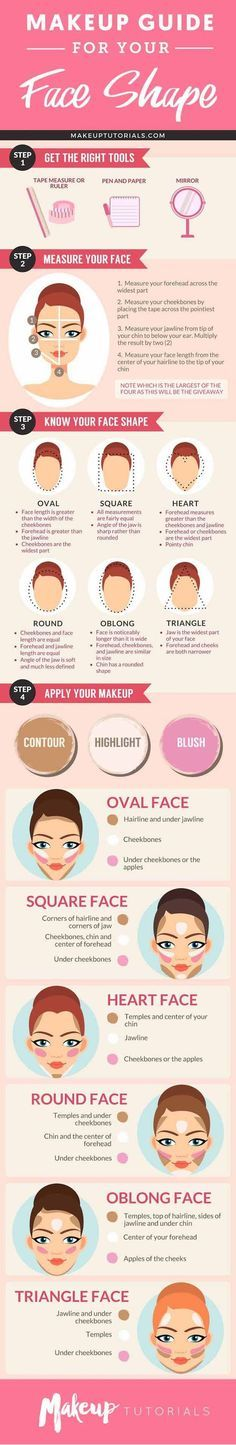 How to Contour Your Face Depending On Your Face Shape   Best Makeup Tutorials And Beauty Tips From The Web   Makeup Tutorials