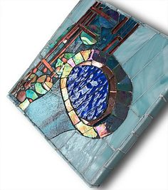 Sipp_Greg detail 1 by Lin Schorr, via Flickr. Abstract mosaic
