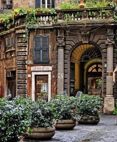 Barber Shop, Rome, Italy   - I'd like to pop in there this week and get my hair trimmed :) ~sl