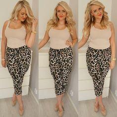 Animal Print Pants | Women's Fashion