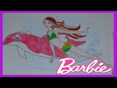 Coloring Pages  Barbie: Dolphin Magic