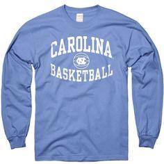 North Carolina Tar Heels New Agenda Reversal Basketball Long Sleeve... ($20) ❤ liked on Polyvore featuring new agenda