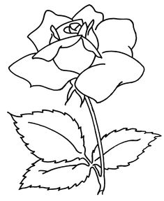 printable mothers day coloring pages rose coloring sheets and pictures - Flower Coloring Pages Printable