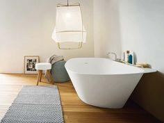 Bañera exenta, diseño de Monica Graffeo para crear la colección Fonte para Rexa Design.