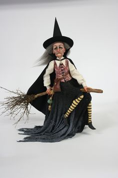Awesome Hag by the divine witch maker Sheila Bentley of Primdolly Designs