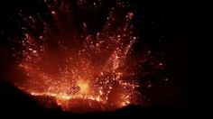 Europe's largest volcano, Mount Etna in Italy, last erupted in 2013.