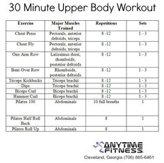 22 best upper body  arm exercises images  exercise