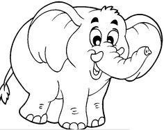 33 En Iyi Elephant Coloring Pages Görüntüsü Elephant Coloring Page