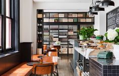 THREE-FOLD FOOD STORE & EATERY  Elana Castle discovers a welcoming and well-designed eatery in the Melbourne CBD.
