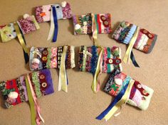 Decorated Twiddlemuffs for RD&E hospital