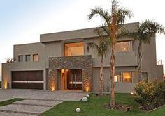 Ideas For Exterior Modern Villa Facades Modern House Facades, Modern House Design, Modern Architecture, Modern Exterior, Exterior Design, Casa Rock, Casas Country, Villa, Modern Contemporary Homes