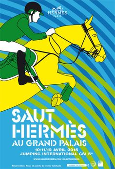 8ccf790f171a On its sixth year, Hermes will be taking the equestrian event, Saut Hermes  at the Grand Palais in Paris. Hermes has always been associated with  horses, as