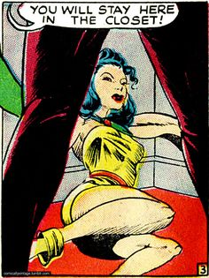 Comically Vintage takes vintage comic book panels out of context. The result is quite often homoerotic.